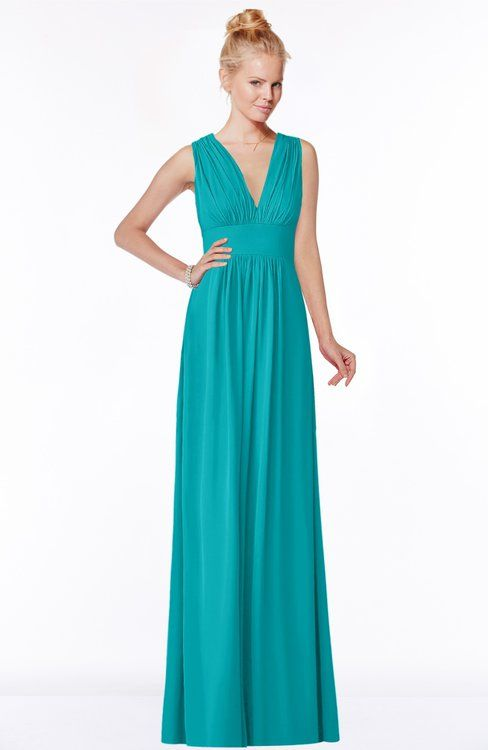 ColsBM Carolyn – Peacock Blue Bridesmaid Dresses
