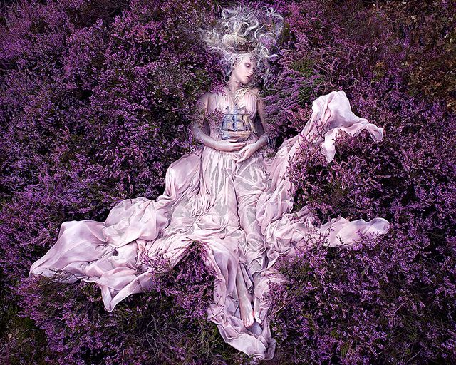 """Wonderland """"Gammelyn's Daughter"""" by Kirsty Mitchell, via Flickr (Getting inspiration for my photography - mjd)"""