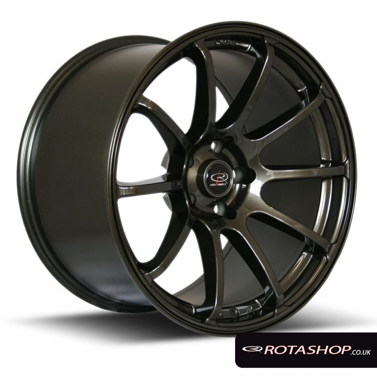 Rota Force Drift 18 inch Gunmetal   5x100   ET35   Rota Alloy Wheels   Rota Wheels   Rota Shop