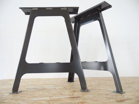 28 AFrame Table Legs Steel Table Leg SET2 By Balasagun On Etsy, $190.00