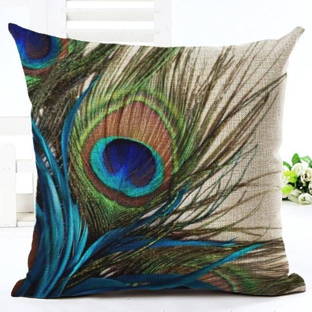 Peacock Pillow | Pillows, Throw pillows