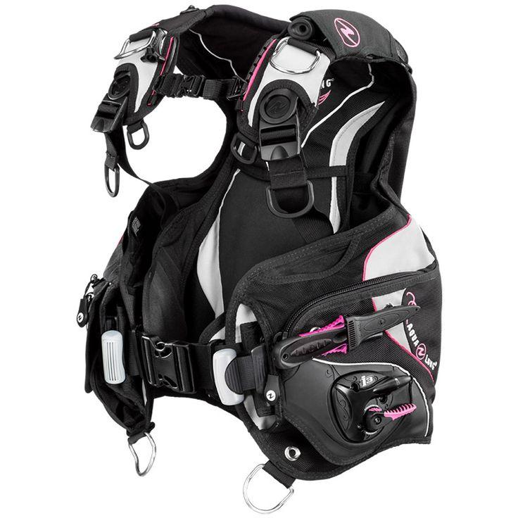 Aqua Lung - Equipement de plongée pour usage personnel et professionnel - Soul i3 Gilet offrant une flottabilité optimale