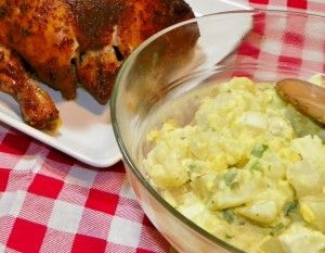 Classic Mustard Potato Salad..it has a fun secret ingredient that makes it perfect!!!!