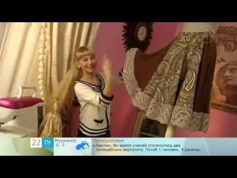 Ольга Никишичева .Юбка из оранжевого хлопка (Olga Nikishicheva. Skirt of orange cotton - YouTube