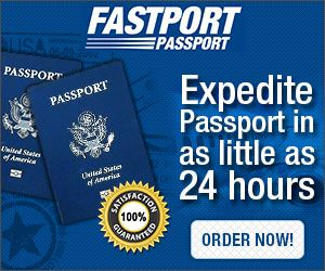 Order an expedited passport. Also has all other instructions on obtaining a passport for adults and children.