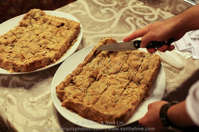 An Apple Slab Pie with Dried Fall Fruit, a movie called Kings of Past ...