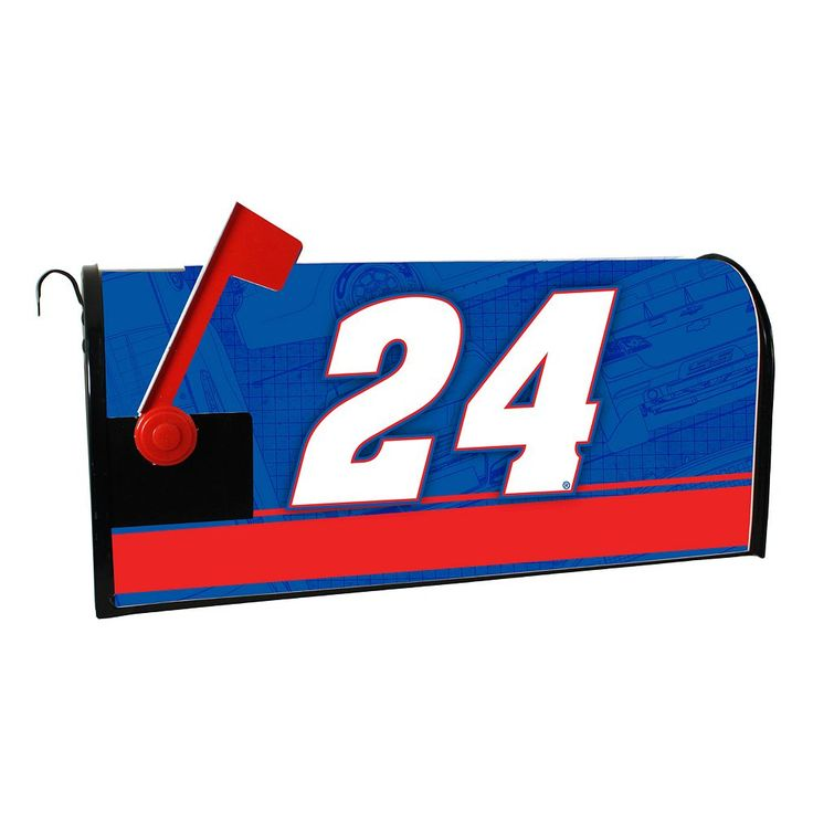 Chase Elliot Magnetic Mailbox Cover, Multicolor