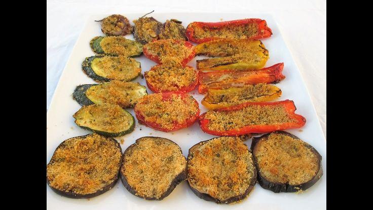 Verdura grelhada ao forno com ervas aromaticas - #Receitasitalianas