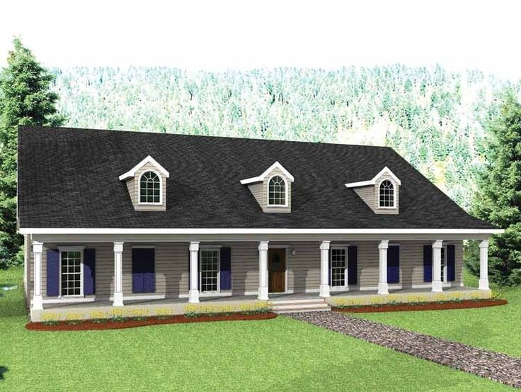 Eplans country house plan big country 3029 square feet for Southern country house plans