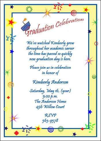 33 best graduation party invites images on pinterest graduation read about embellishing your graduation party invitations creative graduation party invitation wording most popular stopboris Images