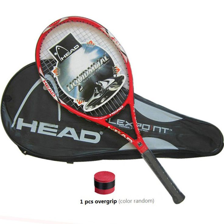 New 2018 Head Tennis Racket Racquets Equipped with Bag Tennis Grip Size 4 1/4  #HEAD