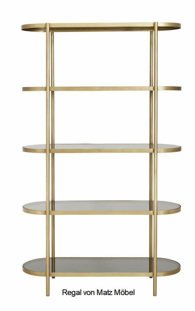 Ana Regal Metall Gold Glasboden Schwarz Oval Designer Regal Gold Matz Mobel Ebay In 2020 Black Glass Home Decor Horsens