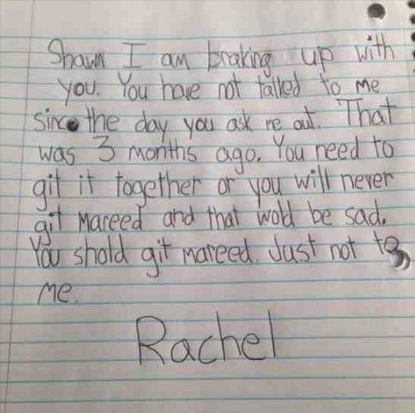 15 Hilarious Notes Only a Kid Could Write-Kids say the craziest things and are always brutally honest. Check out these 15 funny kid notes.