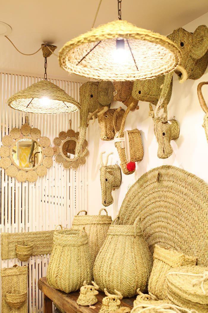 7 best decora con esparto images on pinterest cortinas - Cortinas de esparto ...