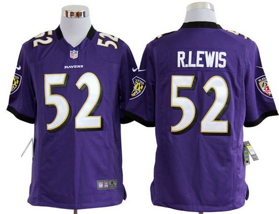 3a90a769a ... top quality limited black alternate super bowl xlvii nfl jersey nike  ravens 52 ray lewis purple