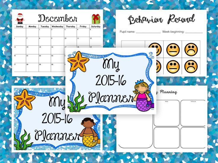 Calendar Editable      texas asics Teacher and Teacher Planner Mermaid Binder Teacher allen Planner  Binder outlet store