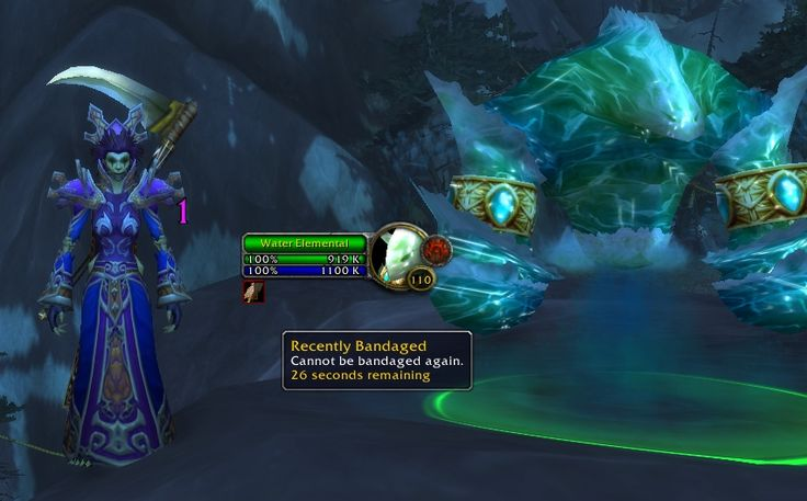 Healing my water elemental by bandaging it feels a bit less immersive than the old way of healing it by simply casting frostbolt at it. #worldofwarcraft #blizzard #Hearthstone #wow #Warcraft #BlizzardCS #gaming