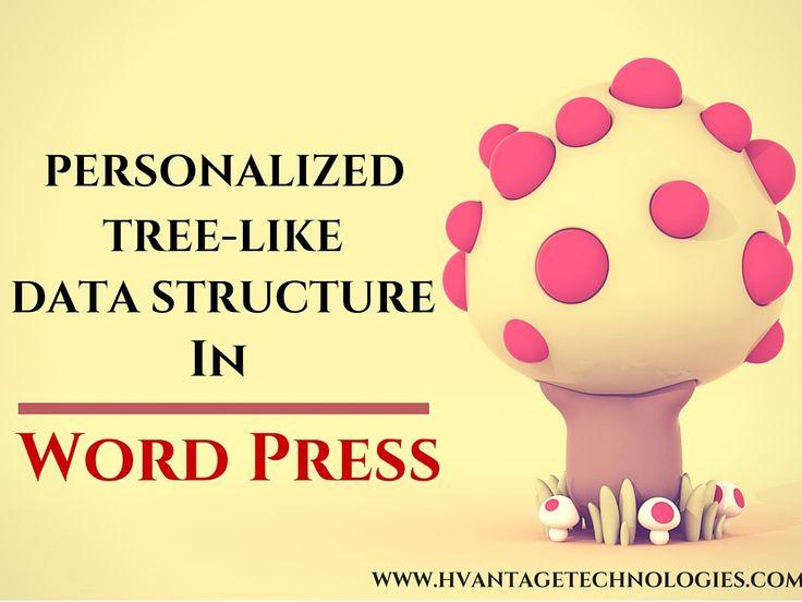 Personalized Tree-Like Data structure in Word Press #webdesign #webdevelopment #digitalmarketing