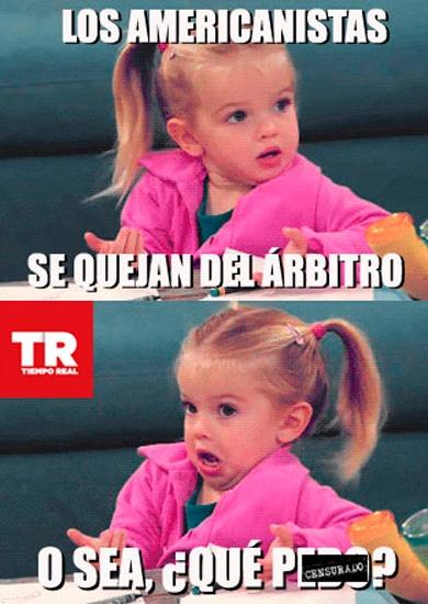 """Los Americanistas en """"Los Memes de Vargas""""."""