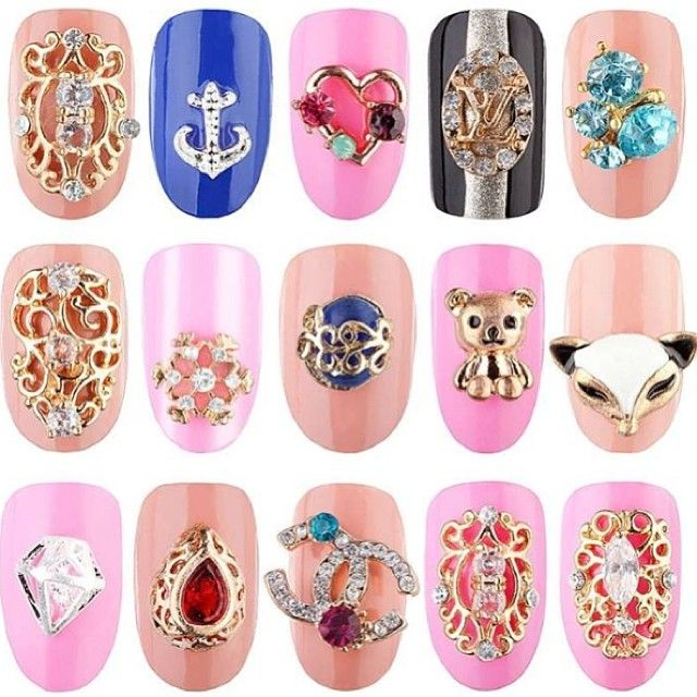 Kto chętny na nowe ozdoby z Eclair? #eclair #eclairnail #nails #nailart #nailporn #nailswag