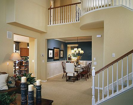 model home interior paint colors