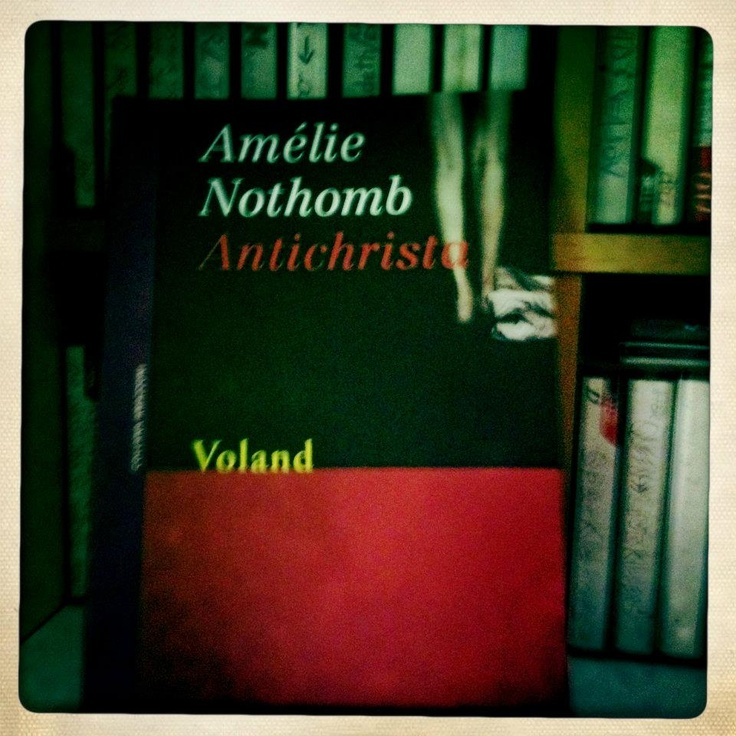 Nothomb. Amelie. Please read her and then tell me what do you think...