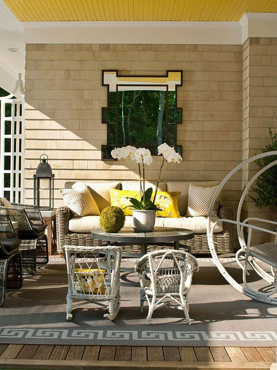 create an outdoor porch retreat - Porch Decorating Ideas