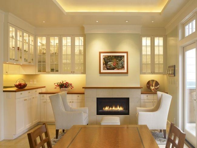 Great Wenn Sie mehr Licht in einem Zimmer oder ein attraktives Akzent f r die Deckengestaltung brauchen dann berlegen Sie indirekte LED Deckenbeleuchtung in die