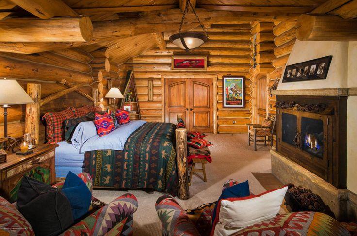Perfect Cabin Bedroom