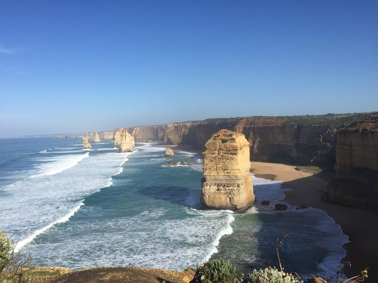 The 12 Apostles. Victoria Australia. The worlds largest collection of collapsed sea arches. [OC] [32642248] #reddit