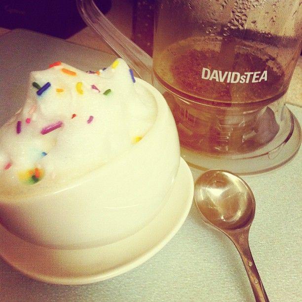 Birthday Cake Latte. Yummy!!