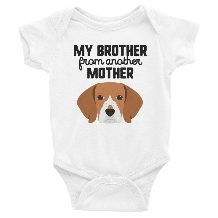 Funny Beagle Dog Baby Clothes Baby Shower Gift Funny Baby