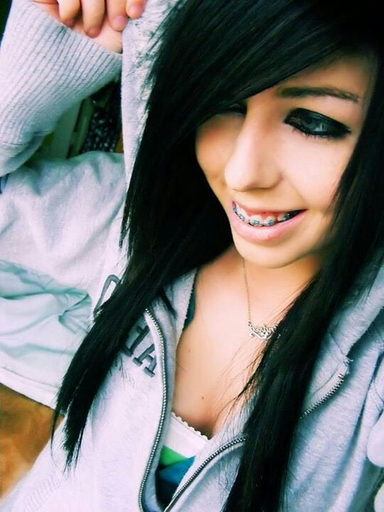 Enjoyable 1000 Images About Emo Hairstyles On Pinterest Emo Hairstyles Short Hairstyles Gunalazisus