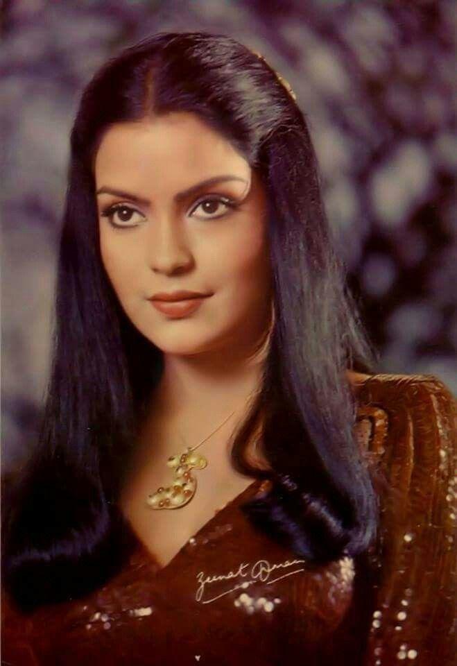 Love love Zeenat Aman!