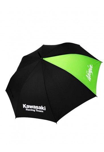 Kawasaki long Socks. Black Long Socks with green lines and the Kawasaki Racing Team logo on calf.