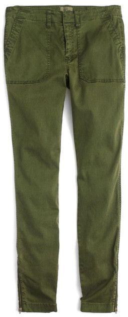 J.Crew J. Crew Zip Ankle Skinny Cargo Pants
