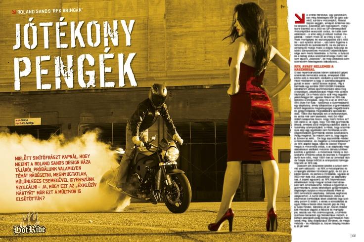 RSD Honda FireBlade for RFK Charity