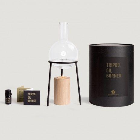 Tripod Oil Burner