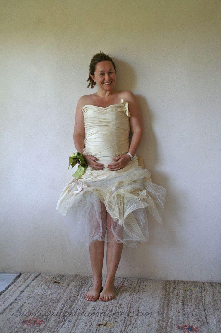 21 best robes de mari es femme enceinte wedding dress pregnant women images on pinterest. Black Bedroom Furniture Sets. Home Design Ideas