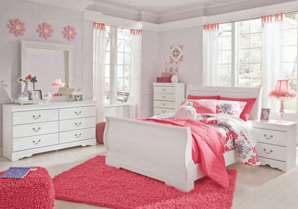 Best Anarasia Full Bedroom Set Bedroom Sets Sleigh Bedroom 400 x 300