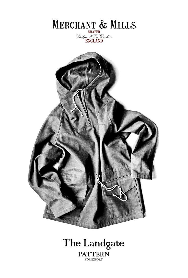 COMERCIANTE y molinos • El patrón de costura de la chaqueta Landgate - La hija del Draper
