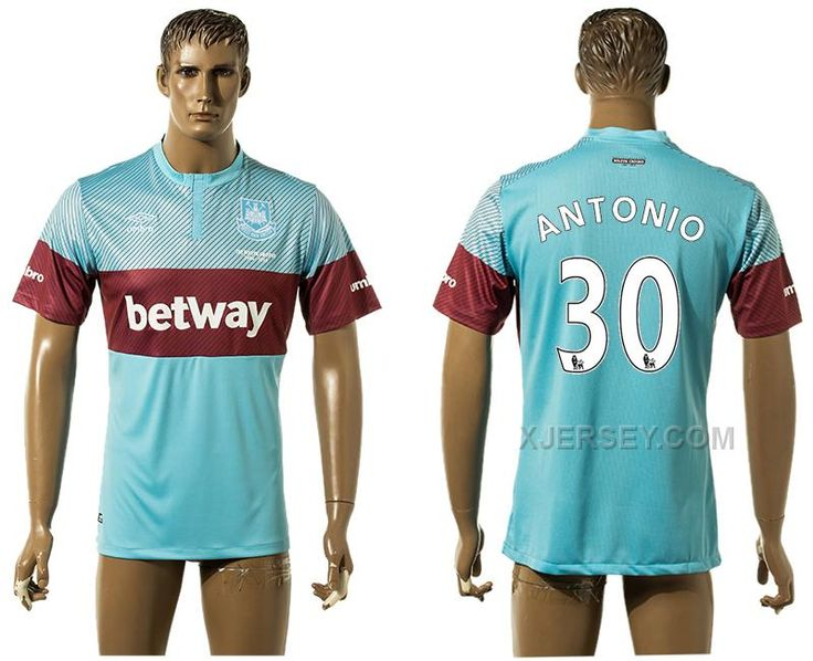 http://www.xjersey.com/201516-west-ham-united-30-antonio-away-thailand-jersey.html Only$35.00 2015-16 WEST HAM UNITED 30 ANTONIO AWAY THAILAND JERSEY Free Shipping!