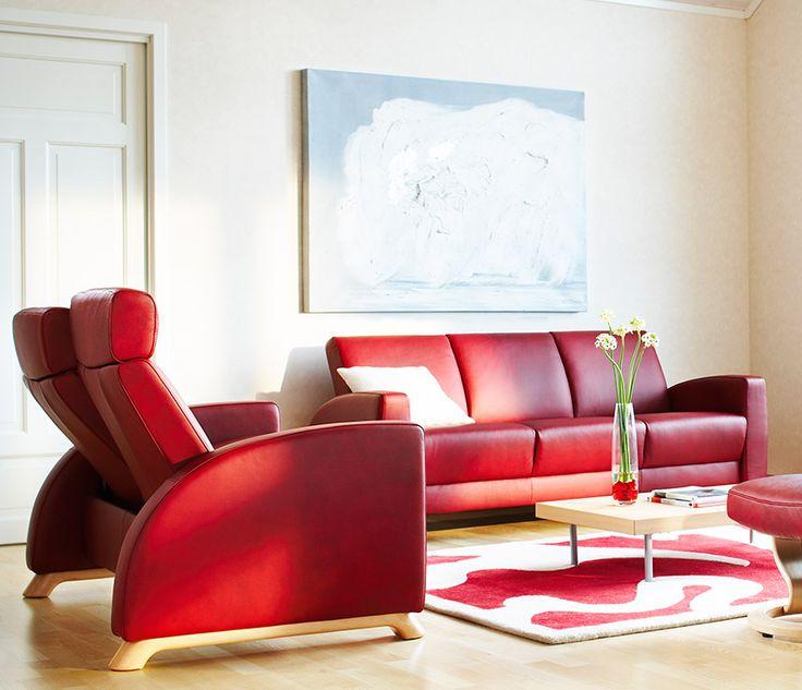 Stressless Arion recliner sofas