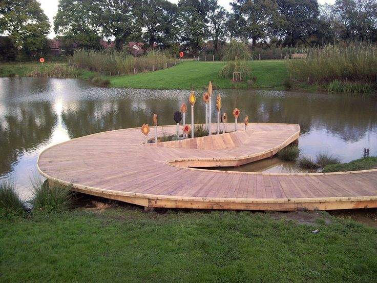 16 best pond deck ideas images on pinterest decks boat for Pond pier plans