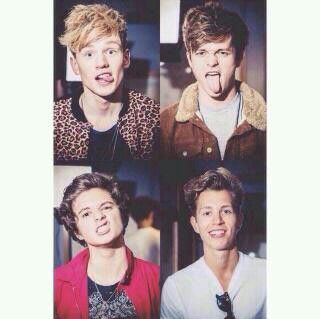 The Vamps---ok so theyre officially now one of my fav boy bands---and 1D of course!