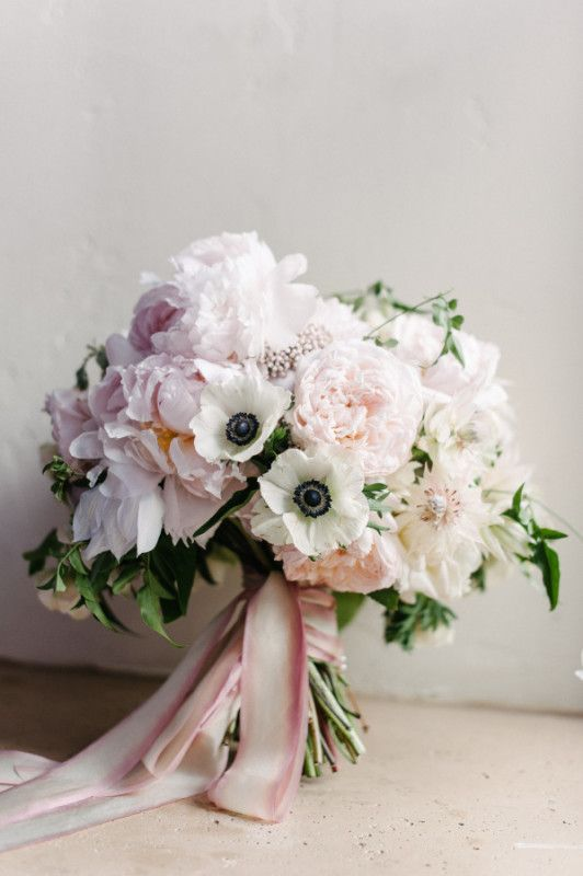 Wedding Wednesday :: Bouquets with Anemones | Flirty Fleurs The Florist Blog - Inspiration for Floral Designers