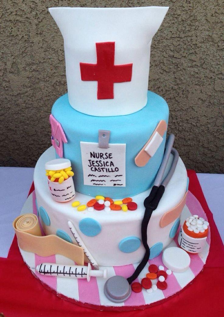 Nurse cake for a recent grad!