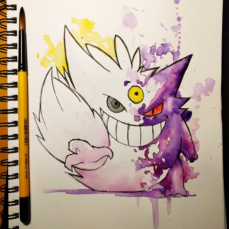 Shiny Gengar in the middle of mega evolving - Imgur
