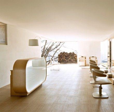 Maletti Welcome Green Reception Desk -