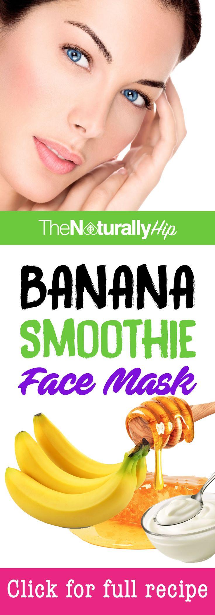 Banana Smoothie Face Mask | Omg I love this mask!